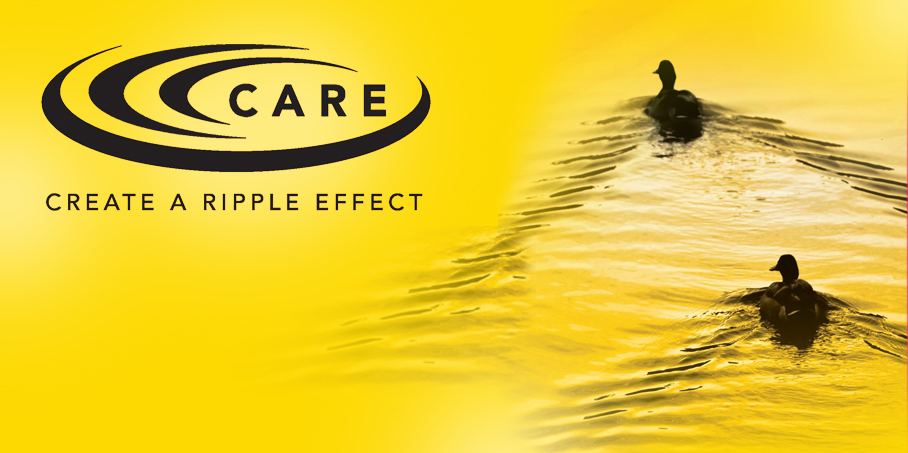 Care - Create a ripple effect.