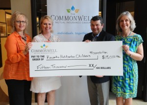 K-HCF The Commonwell cheque presentation 02 06 16